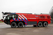 13 PANTHER 8x8 for Amsterdam Airport Schiphol - Photo: Royal Schiphol Group