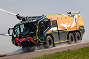 Rosenbauer PANTHER for Stuttgart Airport