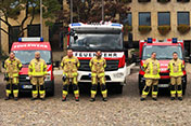 Protective clothing for the Fire Department Kronach