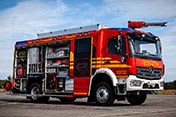 Rosenbauer TLF 4000 for the Zinnowitz Fire Department