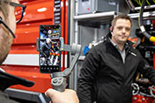 Virtual vehicle acceptance at Rosenbauer