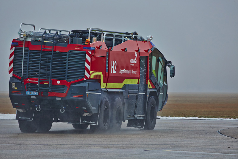 Modern fire fighting vehicles | Rosenbauer PANTHER - Rosenbauer