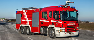 Municipal firefighting vehicles - Rosenbauer