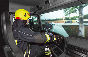 Simulators as a special service - Rosenbauer